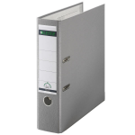 Leitz 180° Plastic Lever Arch File A4 Grey