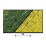 "Acer EB321HQU Awidpx LED display 31.5"" Wide Quad HD Flat White"