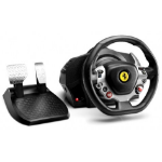 Thrustmaster TX Racing Wheel Ferrari 458 Italia Edition Stuurwiel + pedalen PC,Xbox One Zwart, Zilver