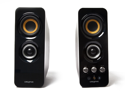 Creative Labs T30 Black loudspeaker