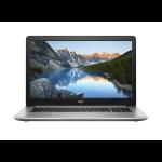 "DELL Inspiron 5770 Zilver Notebook 43,9 cm (17.3"") 1920 x 1080 Pixels Intel® 8ste generatie Core™ i7 i7-8550U 16 GB DDR4-SDRAM 2256 GB HDD+SSD"