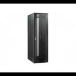 EXC 755405 rack cabinet 27U Freestanding rack Black