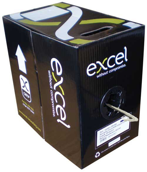 FDL EXCEL CAT.5e UTP SOLID INSTALLATION CABLE (305M BOX)
