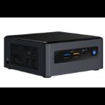 Intel NUC BOXNUC8I7BEH PC/workstation barebone UCFF Black BGA 1528 i7-8559U 2.7 GHz