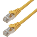 MCL 1m Cat6a S/FTP cable de red S/FTP (S-STP) Amarillo