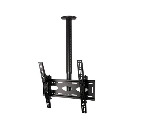 B-Tech Adjustable Drop Universal Flat Screen Ceiling Mount with Tilt