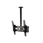 B-Tech Adjustable Drop Universal Flat Screen Ceiling Mount with Tilt