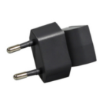 HP 749785-001 Type C (Europlug) Black power plug adapter