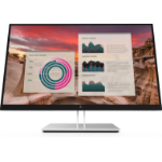 "HP E27u G4 27"" 2560 x 1440 pixels Quad HD Black, Silver"