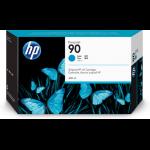HP C5083A (90) Ink cartridge cyan, 3x750pg, 400ml, Pack qty 3