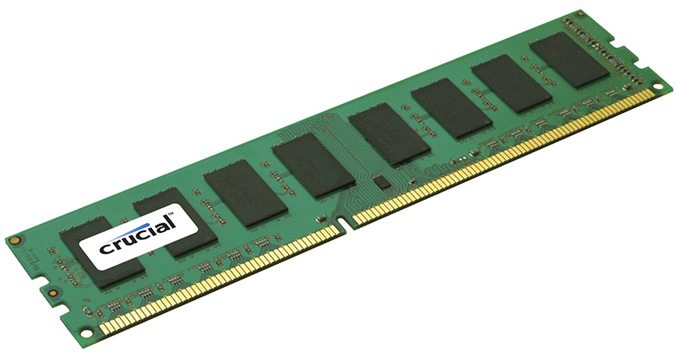 Crucial 8GB DDR3 1600 MHz (PC3-12800) 240-pin RDIMM 8GB DDR3 1600MHz ECC memory module CT8G3ERSLS416