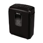 Fellowes Destructora 8Mc triturador de papel Micro-cut shredding 22 cm Negro
