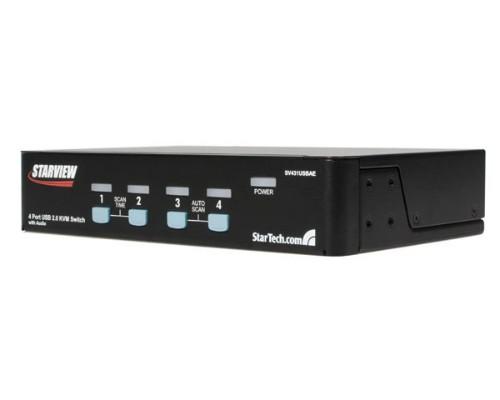 StarTech.com 4 Port StarView USB KVM Switch With Audio