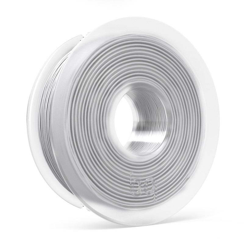 bq PLA filament 1.75mm Polylactic acid (PLA) White 300g
