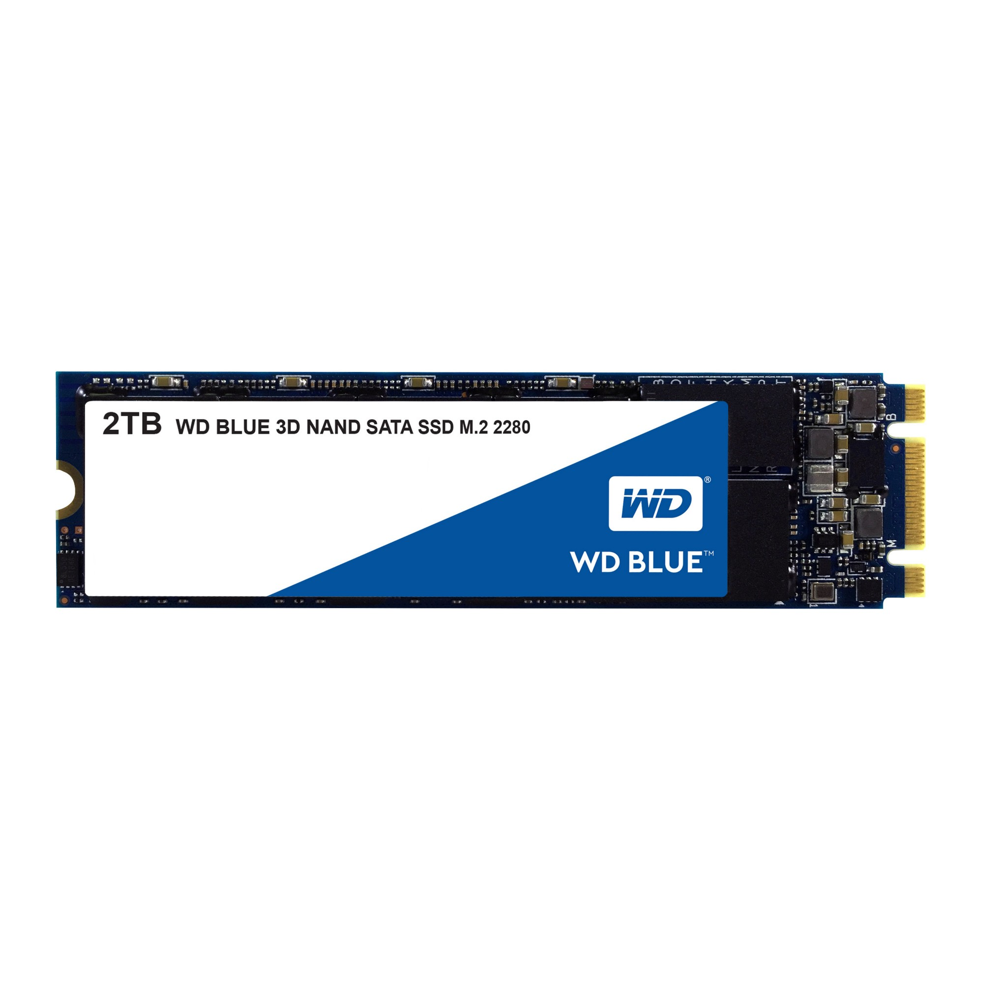 Western Digital Blue 3D internal solid state drive M.2 2048 GB