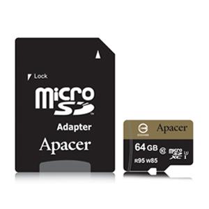 Apacer microSDXC UHS-I Class10 64GB memory card