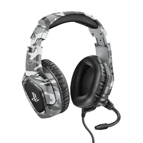 Trust GXT 488 Forze PS4 Headset Head-band Black, Grey