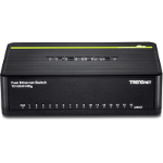 Trendnet TE100-S16Dg Unmanaged L2 Fast Ethernet (10/100) Black