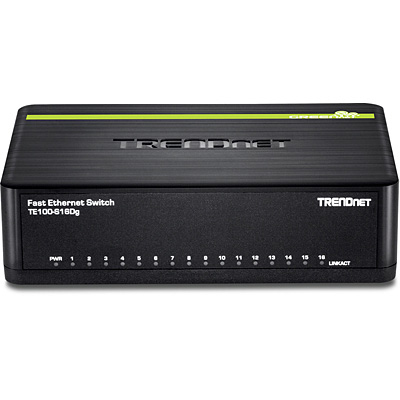 TRENDNET 16 X 10/100 GREENNET SWITCH