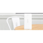 Orico 10000mAh Scharge Polymer Power Bank White(LD100), ABS, Micro USB 5V2A, USB-A 5V2.4A, power life indi