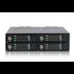Icy Dock ToughArmor MB720M2K-B M.2 SSD enclosure Black