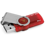 Kingston Technology DataTraveler 101 G2 8GB 8GB USB 2.0 Type-A Red USB flash drive