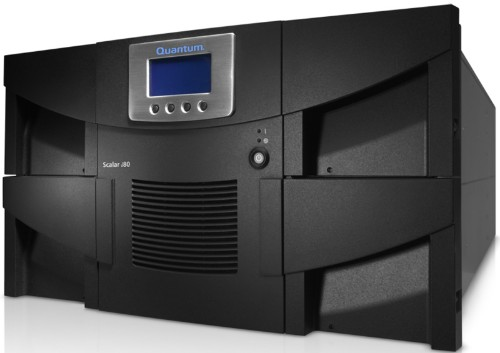 Quantum Scalar i80 200000GB 6U Black tape auto loader/library