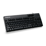 iogear GKBSR202TAA keyboard USB QWERTY Black
