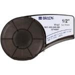 Brady 139742 Black,White Self-adhesive printer label