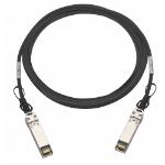 QNAP CAB-DAC30M-SFPP-DEC02 InfiniBand cable 3 m SFP+ Black,Metallic