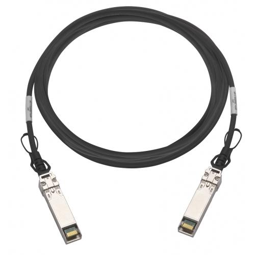 QNAP CAB-DAC30M-SFPP-DEC02 InfiniBand-kabel 3 m SFP+ Zwart, Metallic