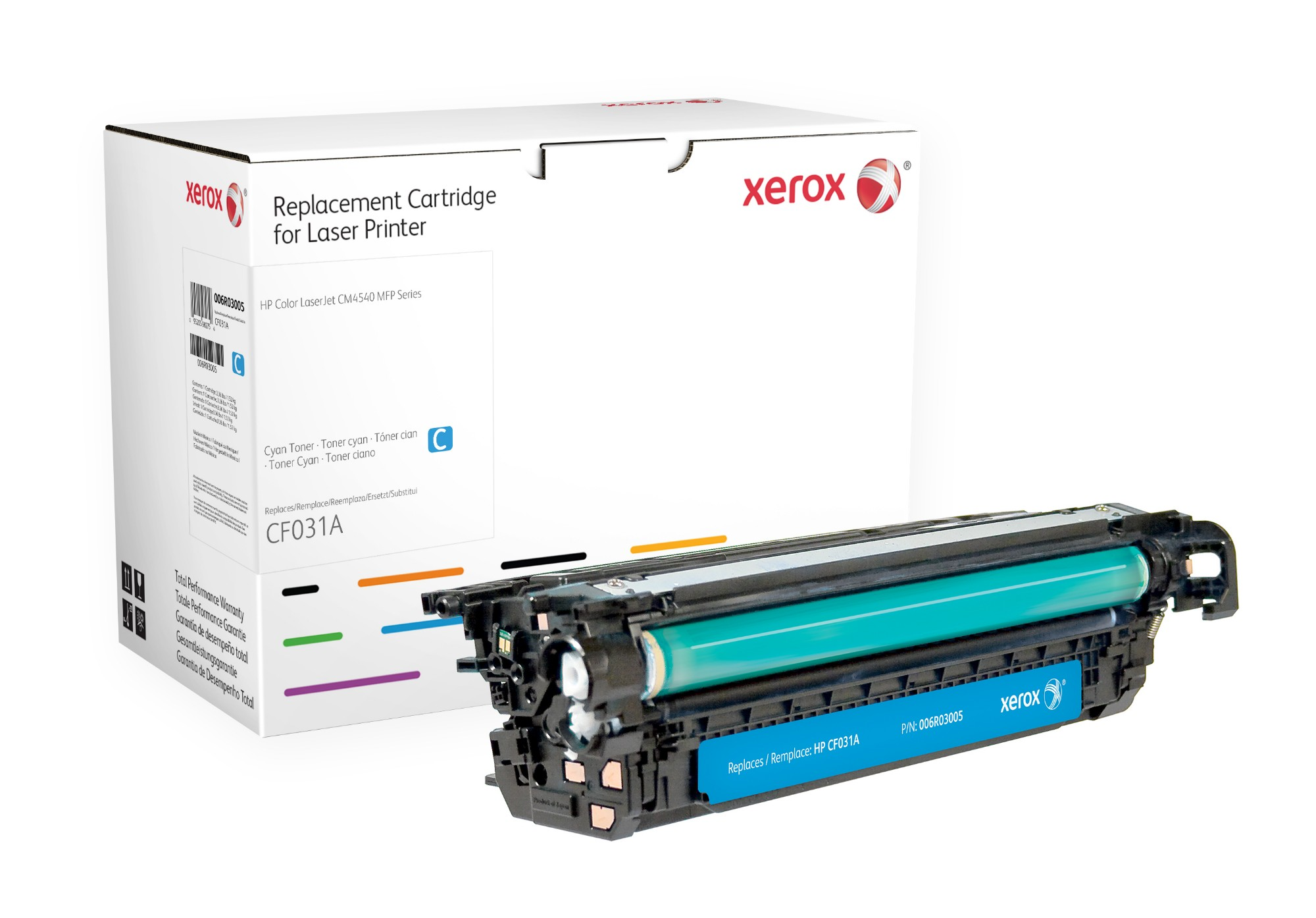 Xerox 006R03005 compatible Toner cyan, 12.5K pages (replaces HP 646A)