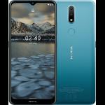 """Nokia 2.4 16.5 cm (6.5"""") Dual SIM Android 10.0 4G Micro-USB 2 GB 32 GB 4500 mAh Blue"""