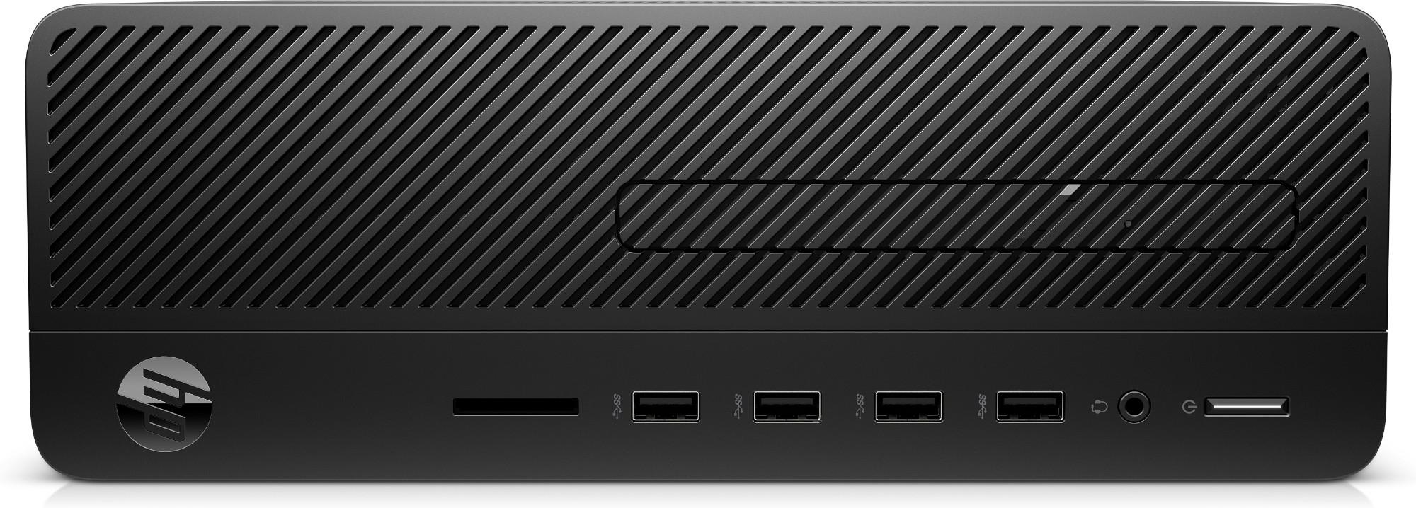 HP 290 G2 9na generación de procesadores Intel® Core™ i5 9500 4 GB DDR4-SDRAM 1000 GB Unidad de disco duro SFF Negro PC Windows 10 Pro