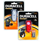 Duracell BUN0045A bicycle light Rear lighting + Front lighting (set) LED