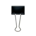 Whitecroft Essentials Value Foldback Clips 50mm Black PK10