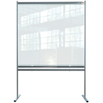 Nobo 1915551 magnetic board Gray, Transparent
