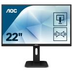 "AOC Pro-line 22P1 computer monitor 54,6 cm (21.5"") Full HD LED Flat Mat Zwart"