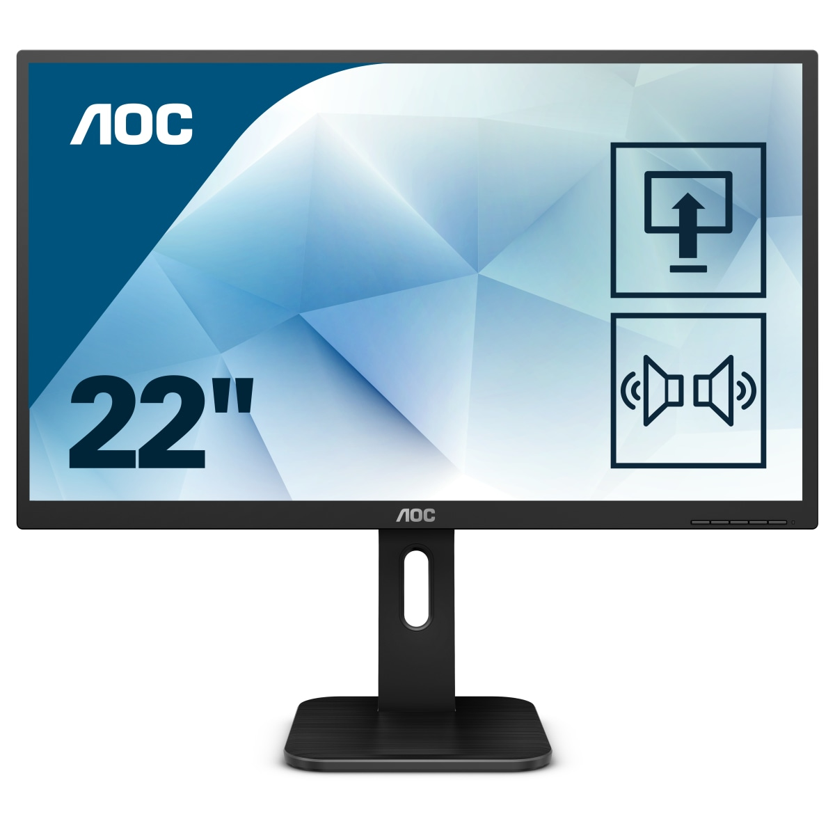 AOC Pro-line 22P1 computer monitor 54.6 cm (21.5