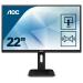 """AOC Pro-line 22P1 pantalla para PC 54,6 cm (21.5"""") Full HD LED Plana Mate Negro"""