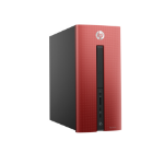 HP Pavilion 550-232na 3.7GHz i3-6100 Mini Tower Black,Red PC