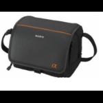 Sony LCS-BDF Messenger case Negro, Naranja estuche para cámara fotográfica