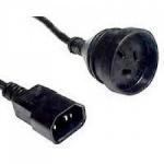 EATON Output Cord IEC 10A plug to 10A 3 pin A