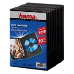 Hama 00051276 optical disc case Jewel case 1 discs Black
