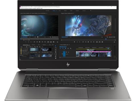 "HP ZBook Studio x360 G5 Zilver Mobiel werkstation 39,6 cm (15.6"") 1920 x 1080 Pixels Touchscreen Intel® 8ste generatie Core™ i7 i7-8850H 16 GB DDR4-SDRAM 512 GB SSD"