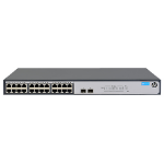 Hewlett Packard Enterprise 1420-24G-2SFP Unmanaged L2 Gigabit Ethernet (10/100/1000) Grey 1U