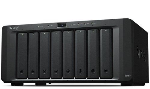 Synology DS181748TBWD DiskStation DS1817 48TB WD Red 8 Bays Powerful NAS Server