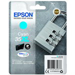 Epson C13T35924010 (35XL) Ink cartridge cyan, 1.9K pages, 20ml