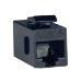 Tripp Lite N235-001 RJ45 F Black wire connector