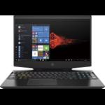 """HP OMEN 15-dh1010na Notebook 39.6 cm (15.6"""") Full HD 10th gen Intel® Core™ i7 16 GB DDR4-SDRAM 1000 GB SSD NVIDIA® GeForce RTX™ 2070 Max-Q Wi-Fi 6 (802.11ax) Windows 10 Home Black"""